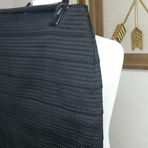 Express Skirts - Women's Express Black Pencil Bandage Skirt